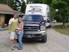 Brian Walker and Rhonda and their RV