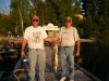Father and son fishing team