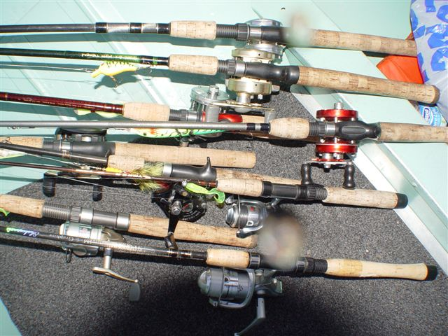 Rods for Walleye fishing